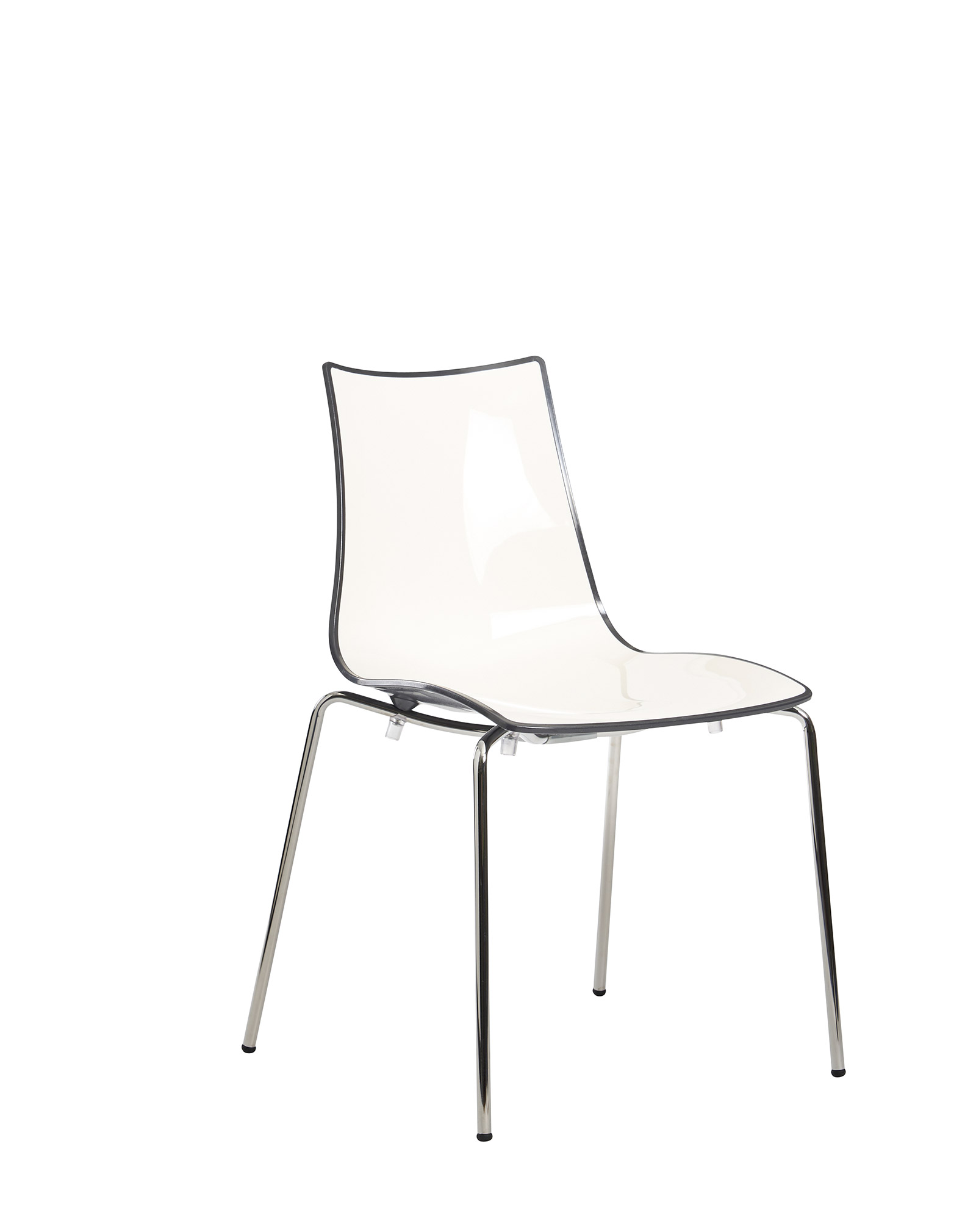 Gecko shell dining stacking chair