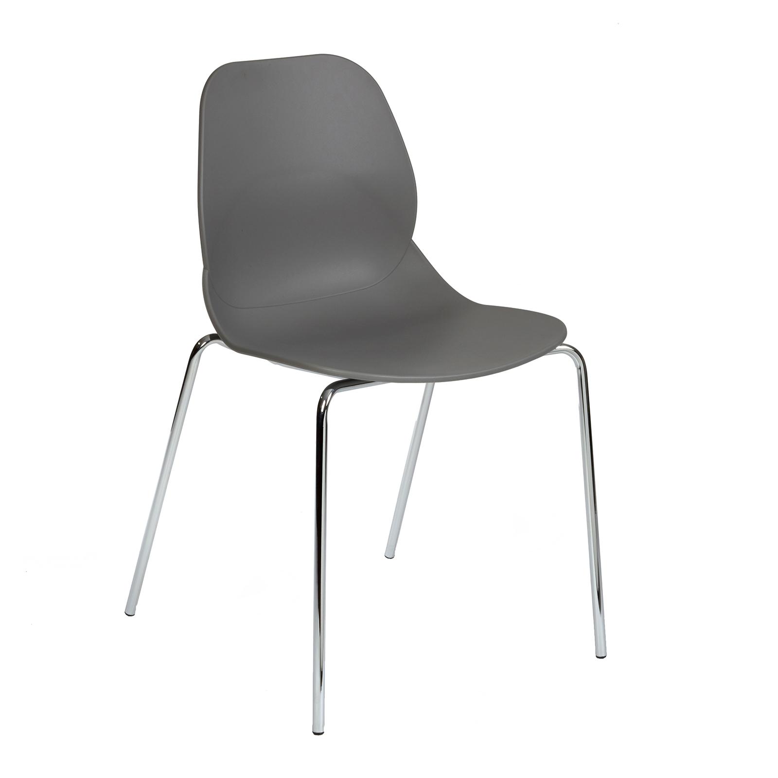 Strut multi-purpose chair with chrome 4 leg frame