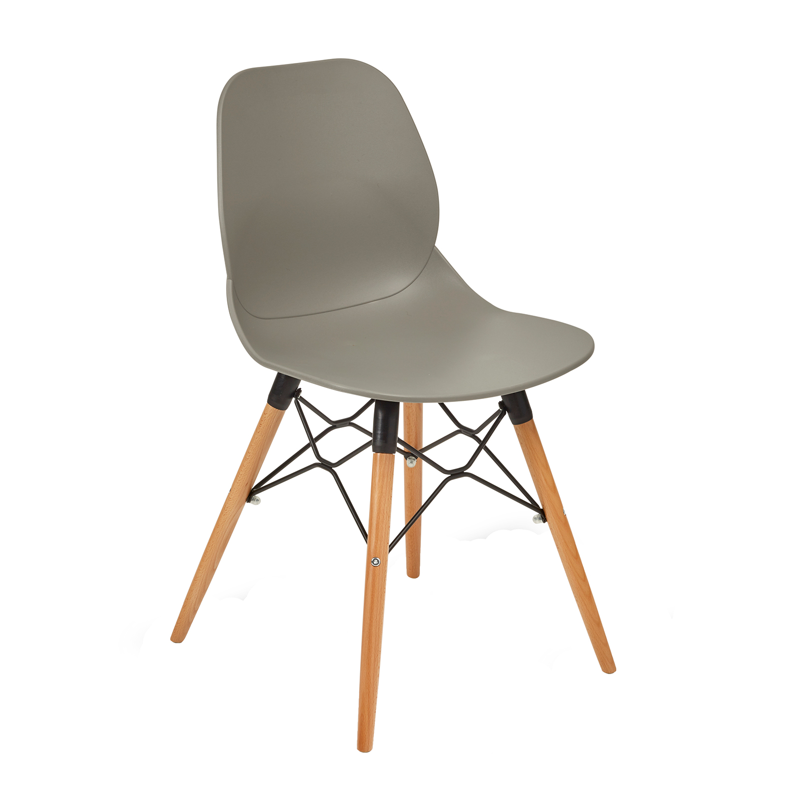 Strut multi-purpose chair with wooden frame