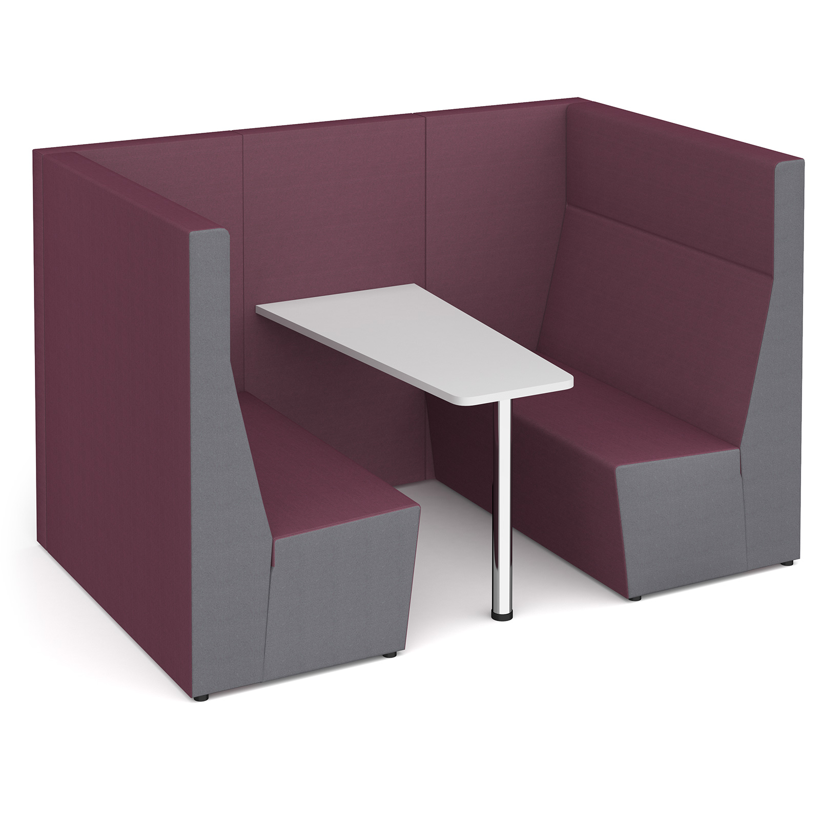 Ziggy Meeting Booths (2-4 Seaters, Range of Colours)